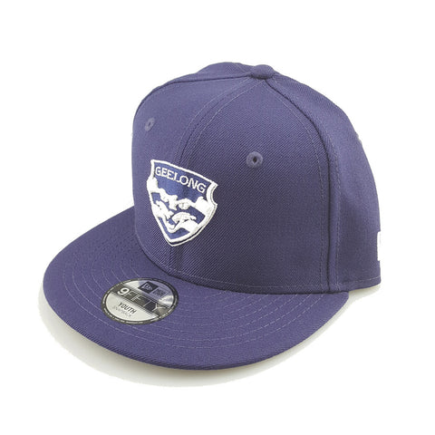 New Era 9Fifty (Youth) - Team Home Classic - Geelong Cats