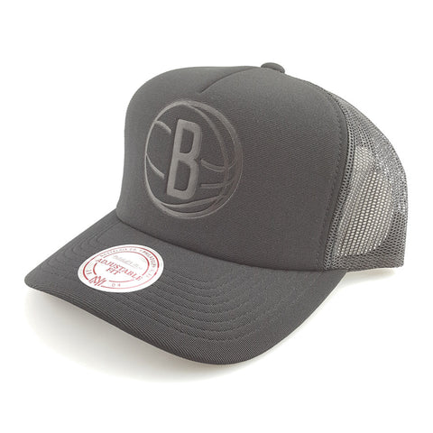 Mitchell & Ness - Tonal D-M Trucker - Brooklyn Nets