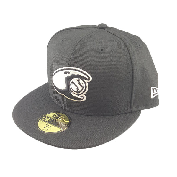 New Era 59Fifty - Minor League Blk Stone - Hickory Clawdads
