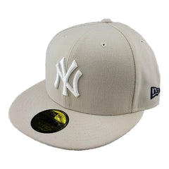 New Era 59Fifty - Sneaker Hook Up Fitted - New York Yankees (Stone/Navy) - Cap City