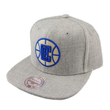 Mitchell & Ness - Heather Snapback - Los Angeles Clippers