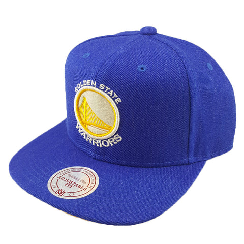 Mitchell & Ness - Heather Snapback - Golden State Warriors