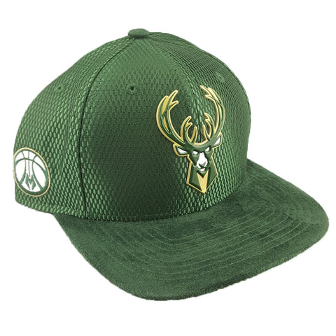 New Era 9Fifty - Official NBA On-Court Draft Collection - Milwaukee Bucks