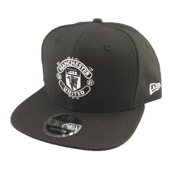 2691585db21 New Era 9Fifty - Black   White - Manchester United - Cap City
