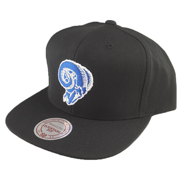 Mitchell & Ness - Flat Peak Embroided Team Logo - Los Angeles Rams