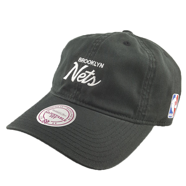 Mitchell & Ness - Special Script Dad Hat - Brooklyn Nets