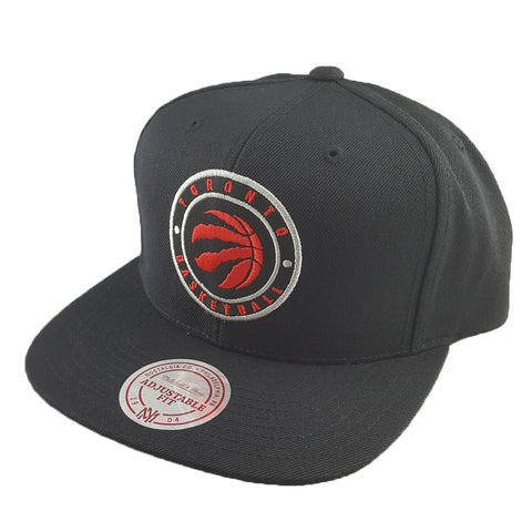 Mitchell & Ness - Twill Circle Patch Snapback - Toronto Raptors