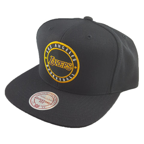 Mitchell & Ness - Twill Circle Patch Snapback - Los Angeles Lakers
