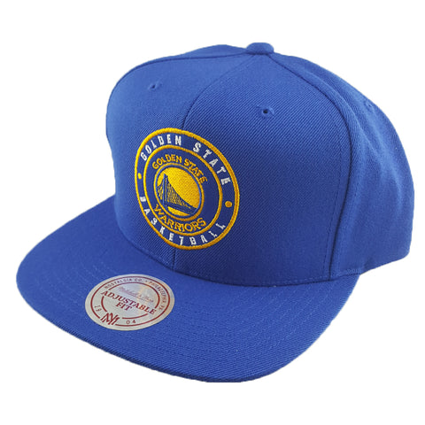 Mitchell & Ness - Twill Circle Patch Snapback - Golden State Warriors