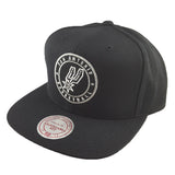 Mitchell & Ness - Twill Circle Patch Snapback - San Antonio Spurs