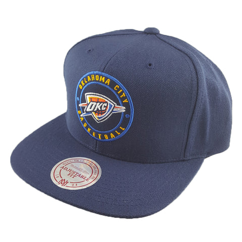 Mitchell & Ness - Twill Circle Patch Snapback - Oklahoma City Thunder