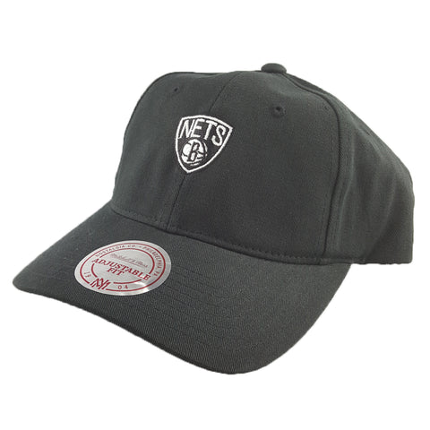 Mitchell & Ness - Washed Cotton Low Pro Cap D-Ring Strapback - Brooklyn Nets