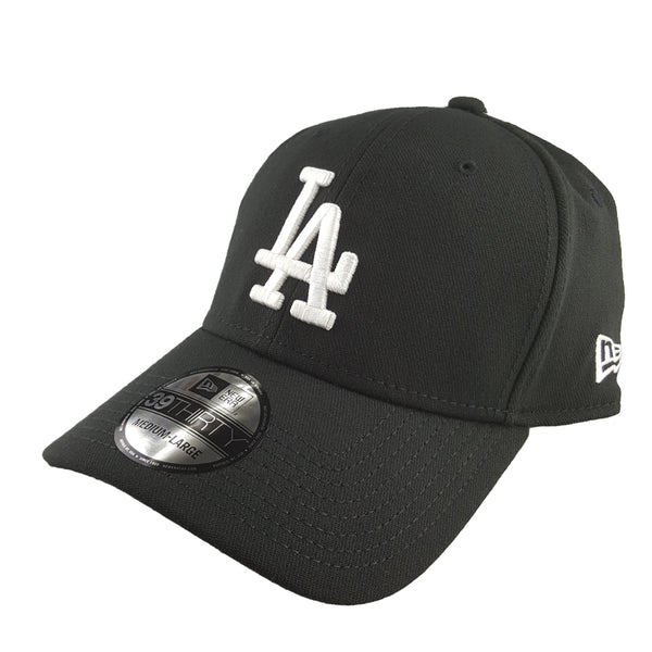 New Era 39Thirty - Black Basics - Los Angeles Dodgers