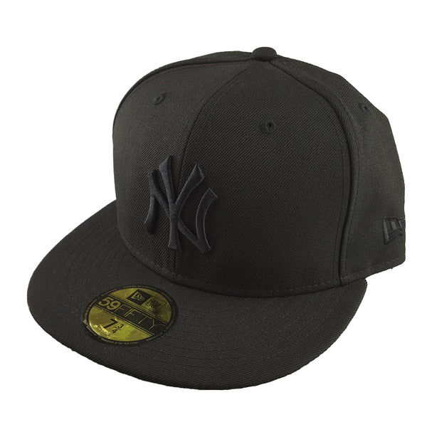 New Era 59Fifty - Black Basics - New York Yankees