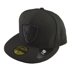 New Era 59Fifty - Black Basics - Oakland Raiders