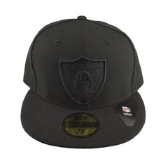 New Era 59Fifty - Black Basics - Oakland Raiders - Cap City