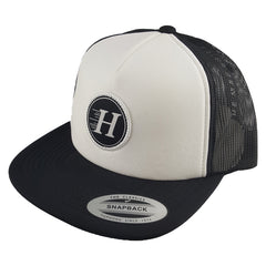 The Mad Hueys - Classic H Foam Trucker Black/White