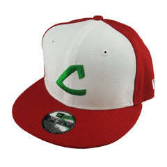 New Era 9Fifty (Youth) - Poke Cap - Cleveland Indians Coop