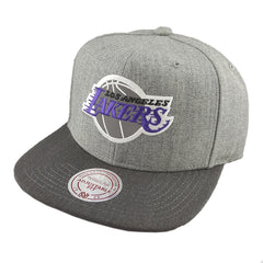 Mitchell & Ness - Heather Reflective Snapback - Los Angeles Lakers - Cap City