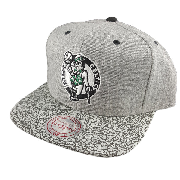 Mitchell & Ness - Elephant Crack Snapback - Boston Celtics