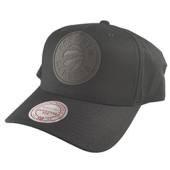 Mitchell & Ness - Black Rubber Logo Flex 110 Snapback - Toronto Raptors - Cap City
