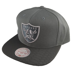Mitchell & Ness - Hologram Mesh Stop On A Dime Snapback - Oakland Raiders
