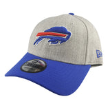 New Era 9Forty - NFL Heather Grey Mix - Buffalo Bills
