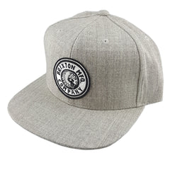 Brixton - Rival Snapback - Light Heather Grey/Off White