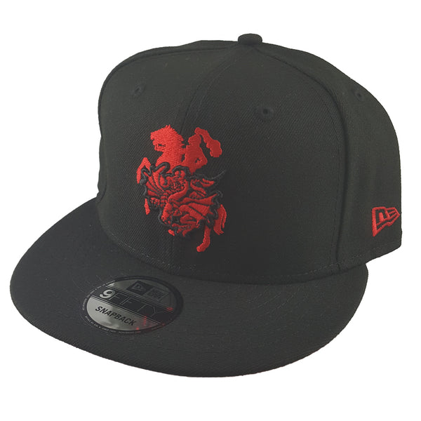 New Era 9FIFTY - NRL Black Pop - St George Illawarra Dragons