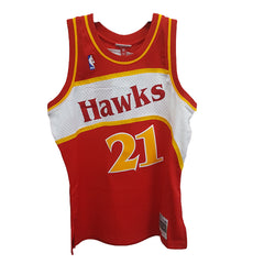 Mitchell & Ness - NBA Hardwood Classic Swingman Jersey - Dominique Wilkins Atlanta Hawks 1986-87 - Cap City