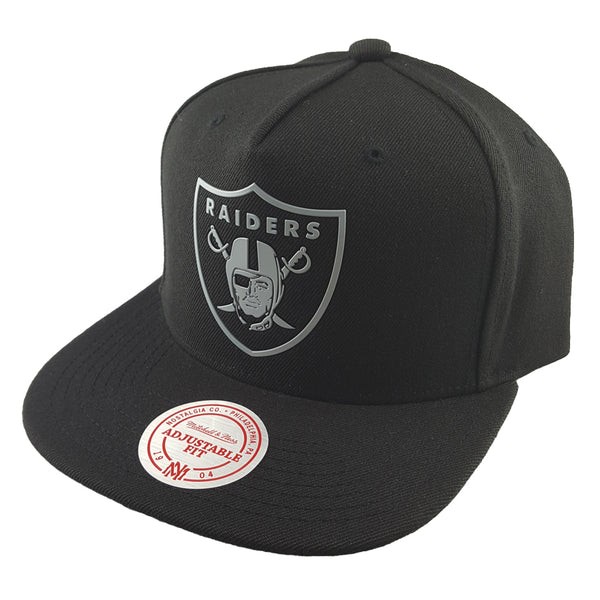Mitchell & Ness - Outline Snapback - Oakland Raiders