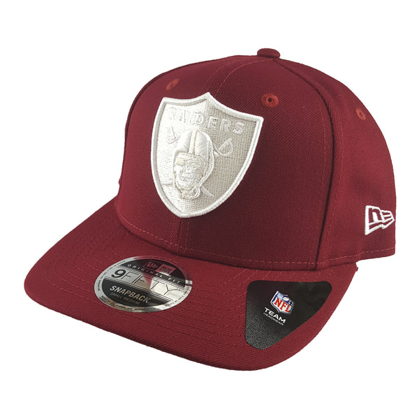 New Era 9FIFTY Pre-Curved - Season Colours - Oakland Raiders