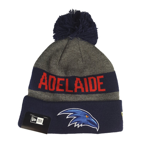 NEW ERA - Marl Jake Beanie Knit - Adelaide Crows - Cap City