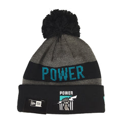 50af7748f37 NEW ERA - Marl Jake Beanie Knit - Port Adelaide Power - Cap City ...