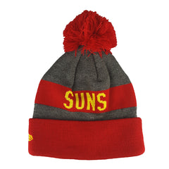 NEW ERA - Marl Jake Beanie Knit - Gold Coast Suns - Cap City