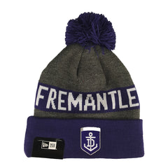 NEW ERA - Marl Jake Beanie Knit - Fremantle Dockers - Cap City