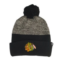 '47 Brand - NHL Backdrop Cuff Knit Beanie - Chicago Blackhawks - Cap City