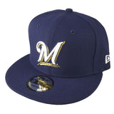 NEW ERA 9FIFTY - MLB Basic Snap - Milwaukee Brewers
