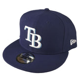 NEW ERA 9FIFTY - MLB Basic Snap - Tampa Bay Rays