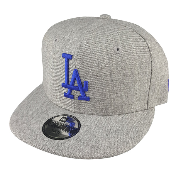 9c7c6291fd3ad NEW ERA 9FIFTY (Youth) - MLB Heather All Over - Los Angeles Dodgers ...