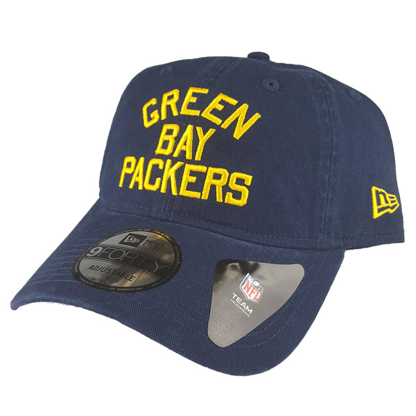 NEW ERA 9FORTY - American Football Throwback - Green Bay Packers