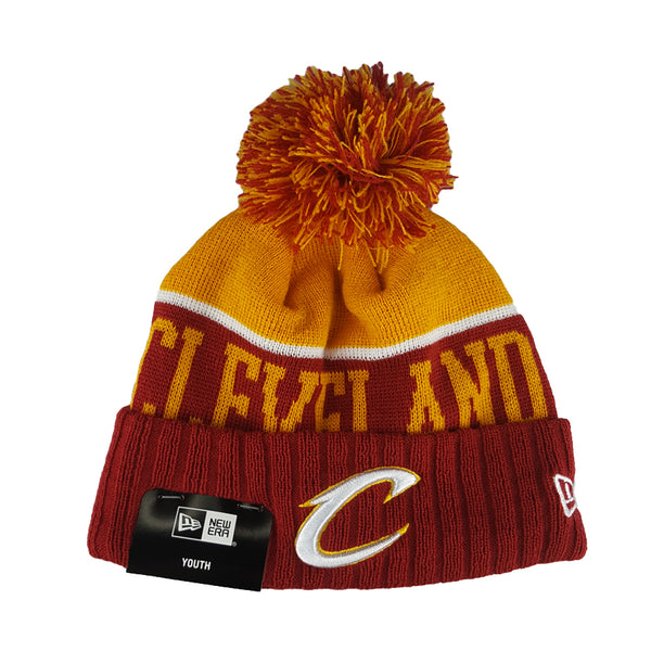 NEW ERA Beanie (Youth) - NBA Team Dip - Cleveland Cavaliers  a5b78c78632