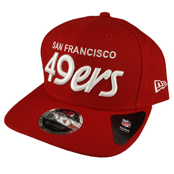 NEW ERA 9FIFTY - 90's NFL Throwback - San Francisco 49ers