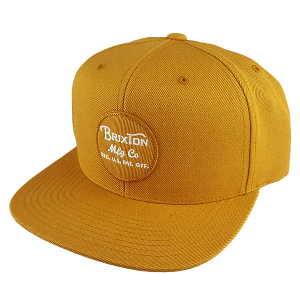Brixton - Wheeler Snapback - Copper White