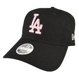 NEW ERA 9TWENTY (Womens) - Black & Pink - Los Angeles Dodgers