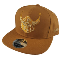 NEW ERA 9FIFTY - NRL Culture Collection Toasted Peanut - Canberra Raiders