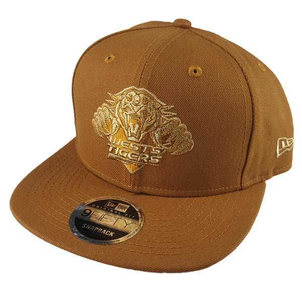 NEW ERA 9FIFTY - NRL Culture Collection Toasted Peanut - Wests Tigers