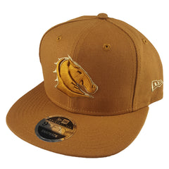 NEW ERA 9FIFTY - NRL Culture Collection Toasted Peanut - Brisbane Broncos