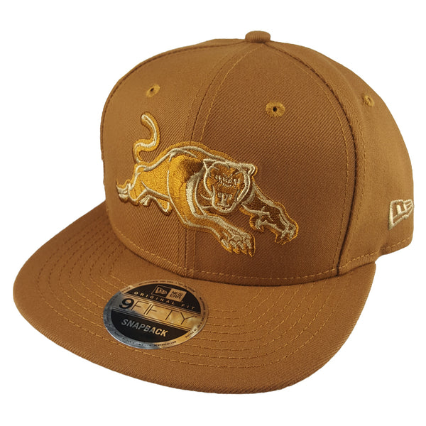 NEW ERA 9FIFTY - NRL Culture Collection Toasted Peanut - Penrith Panthers