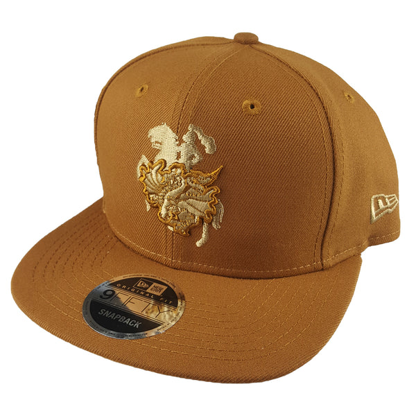 NEW ERA 9FIFTY - NRL Culture Collection Toasted Peanut - St George Illawarra Dragons